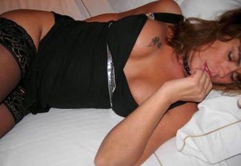 Milf At Bed Time