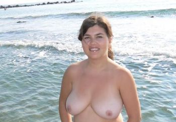 Sexy Beachboobs From My Wife