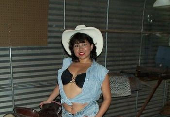 Latina Milf On A Horse Ride