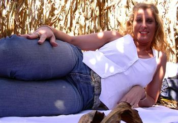 Hot Milf In A Field