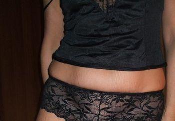 Hairy Pussy In Black Panties