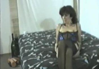Ute im Bett