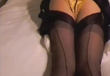 Gold Satin Knickers