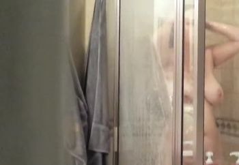 voyeur time in the shower
