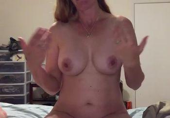 Rubbing My Tits