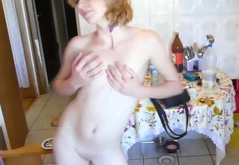naked at my friends