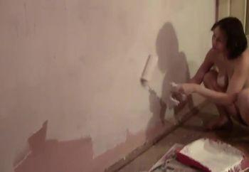 I paint naked 5