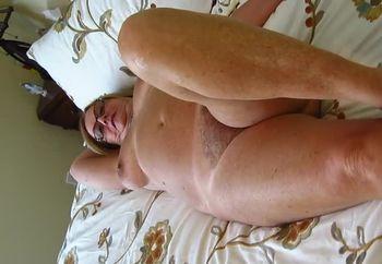 Mature lady strip video