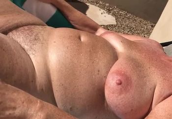 Tanning Naked For You!