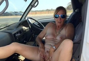Aussie Milf side of road