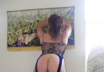 ass in stockings