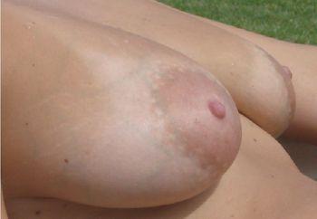 my huge round tits