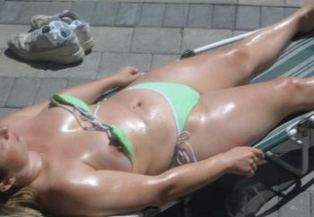 Sleeping Sunbather (voyeur)