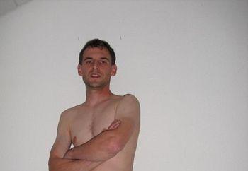 Husband poses hc