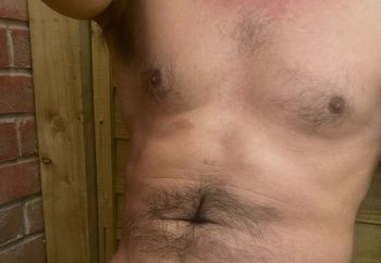 Bit of outdoor nudity