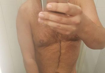 Dutch guy with shaved dick