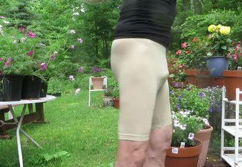 Skin-tight spandex