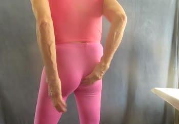 My sissy bulge and fem bottom