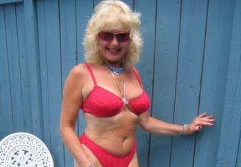 Red Bikini Deck