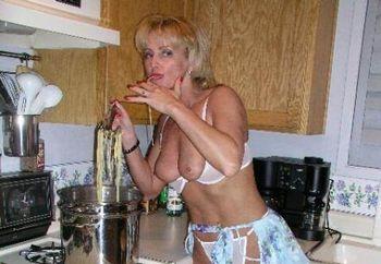 Gabi Making Pasta #1