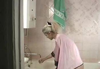 Gemma In The Shower