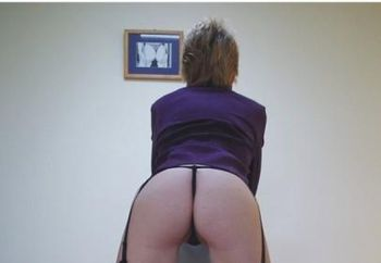 Aussiemilf Purple Stockings